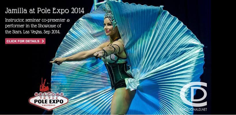 Jamilla Deville at Pole Expo 2014