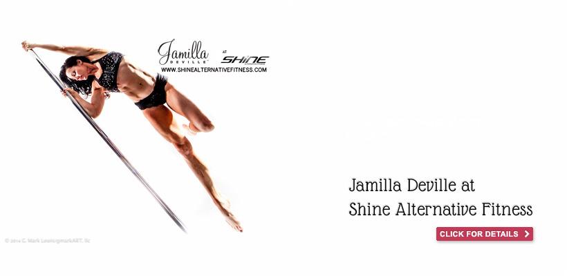 Jamilla Deville at Shine Fitness